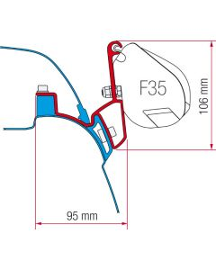 Fiamma Kit F35 VW T5/T6 California