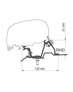Fiamma Kit F80 Mercedes Sprinter H2 - VW Crafter H2 UK